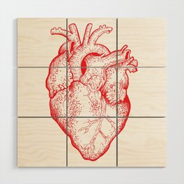 Heartless Wood Wall Art