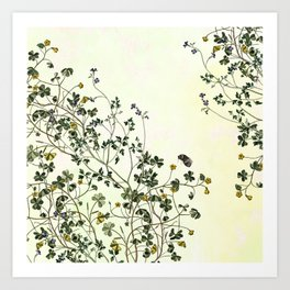 The cultivation of wild Art Print