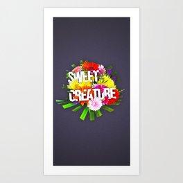 Sweet creature Art Print