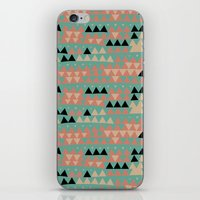triangles iPhone & iPod Skins featuring triangles by spinL