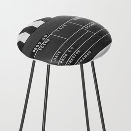 Film Movie Video production Clapper board Counter Stool