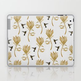 Hummingbird & Flower I Laptop & iPad Skin