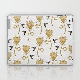 Hummingbird & Flower I Laptop & iPad Skin