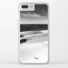 the surfer Clear iPhone Case