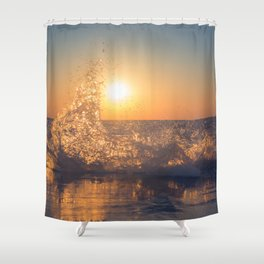 Say Goodbye Shower Curtain