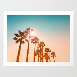Sundowner Kunstdrucke