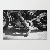 yowamushi pedal Canvas Prints featuring Pedal Bike by adambendig