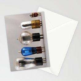 Vacuum Tubes - Tubes à vide Stationery Cards