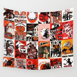 Halloween : Trick Or Treat, Smell My Feet, Gimmie Something Good To Eat. Wall Tapestry
