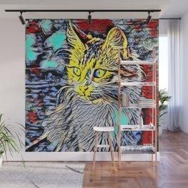Color Kick - Kitten 191 Wall Mural