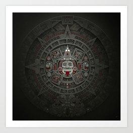 Stone of the Sun I. Art Print