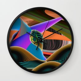 Mother by Kenny Rego Wall Clock