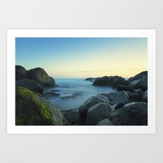 Milky Ocean II Art Print