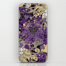 Purple Heart iPhone Skin