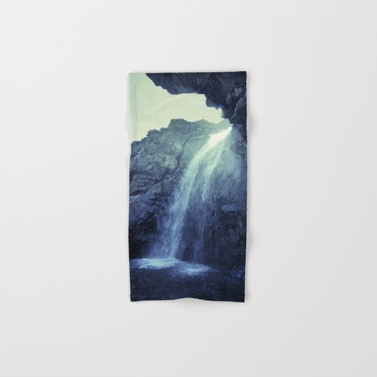 """""""At the mountains"""" Waterfalls... Hand & Bath Towel"""
