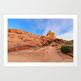0202 Valley_of_Fire_State_Park, Nevada Art Print