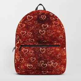 Valentines Day Hearts 1 Backpack
