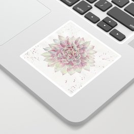 Big Succulent Watercolor Sticker