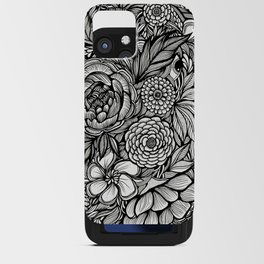 Peony Fascination iPhone Card Case