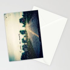 i love you, i miss you.  Stationery Cards