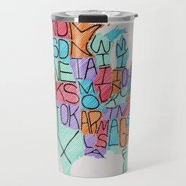 USA in color Travel Mug