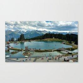 adventure park hög alps serfaus fiss ladis tyrol austria europe Canvas Print