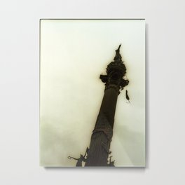 Monument a Colom - Plaça Portal de la pau - Barcelona - Spain Metal Print