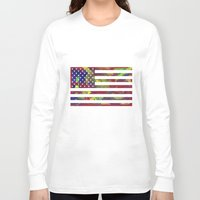 nyc Long Sleeve T-shirts featuring NYC by BACK to THE ROOTS
