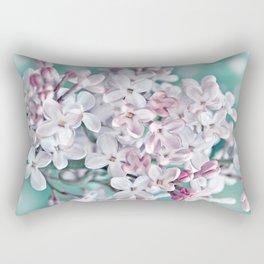 Lilac pink macro 024 Rectangular Pillow