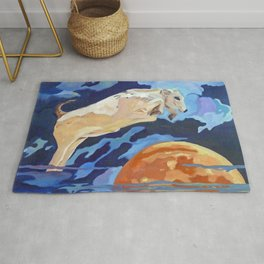 The Cow Jumped Over the Moon Rug
