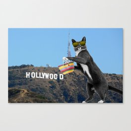 Ray in Hollywood Canvas Print