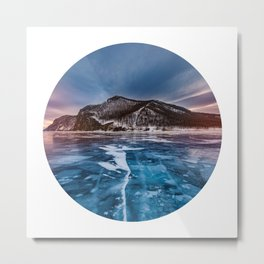 Snow Mountain No1 Metal Print