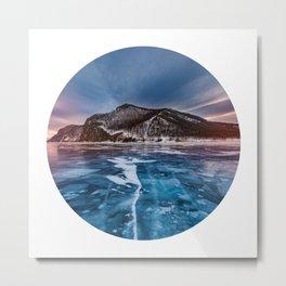 Snow Mountain No1 Metal Print