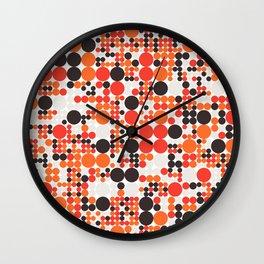 Grid 6 Wall Clock