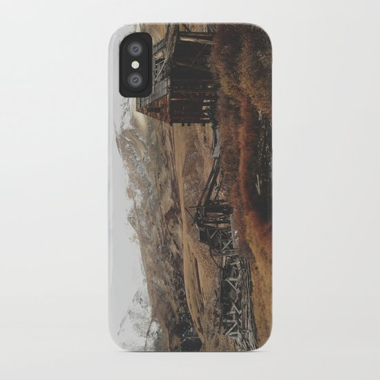 Mountain Mill iPhone Case