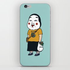 Joyful Girl iPhone & iPod Skin