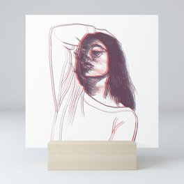 Seeing Double Mini Art Print