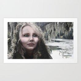 "VAMPLIFIED ""Frostbite"" Art Print"