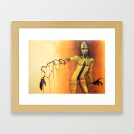 Manakin Framed Art Print