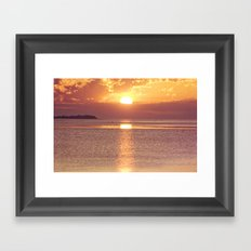 Light the Skies Framed Art Print