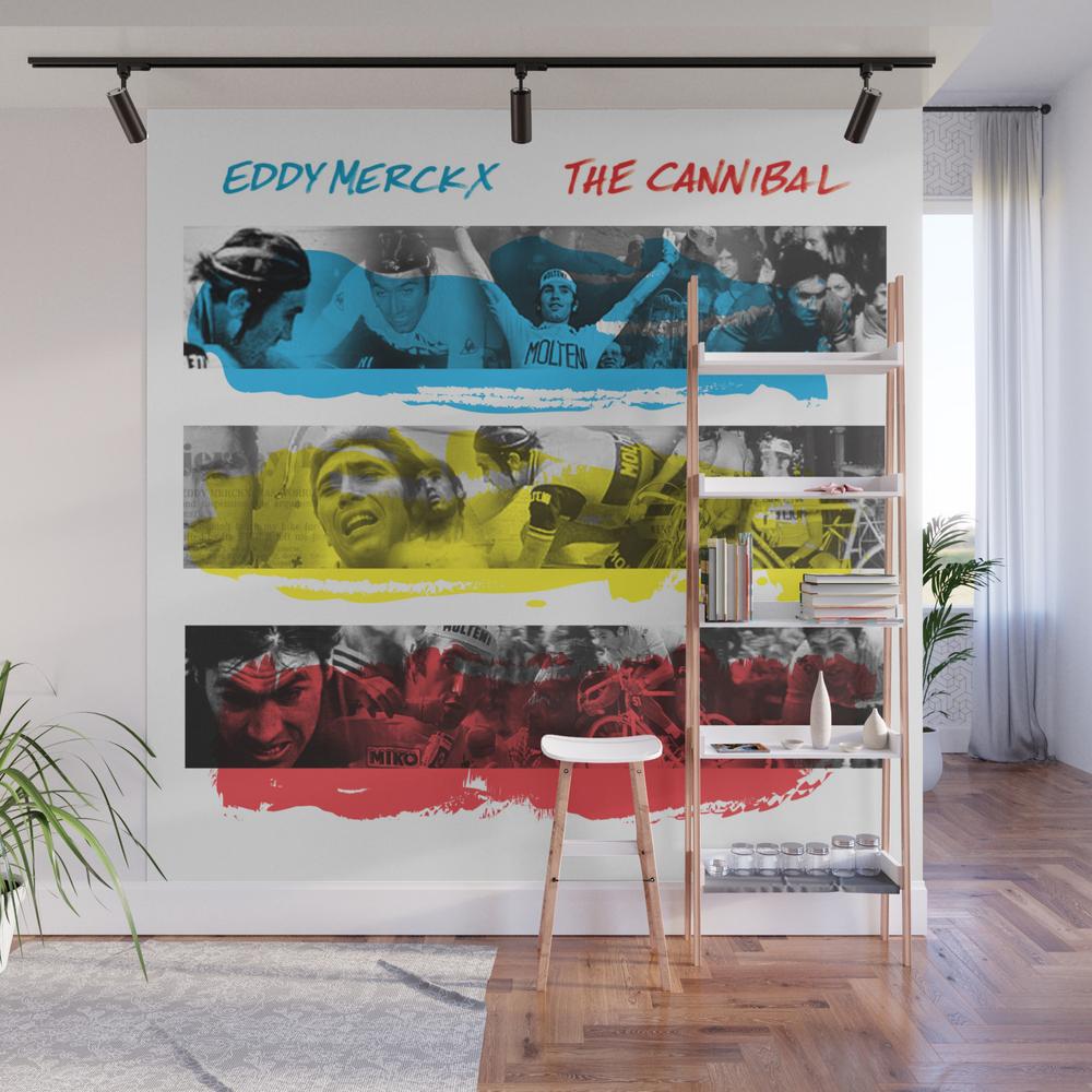 Eddy Merckx - The Cannibal Wall Mural by Trx0x WMP987663