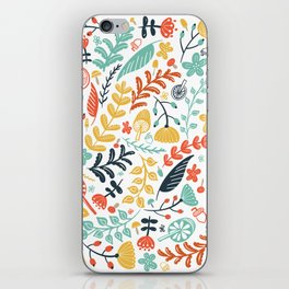 Forest Flora iPhone Skin