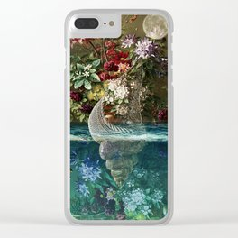 Cornucopia Clear iPhone Case