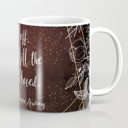 Set off to kill the man I loved - Rose VA Quote Coffee Mug