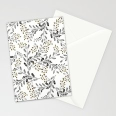 Delicate floral pattern. 1 Stationery Cards