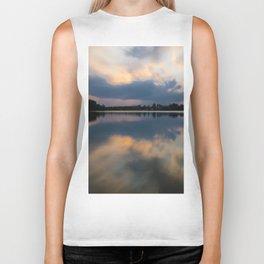 Lake in swabia Biker Tank