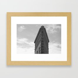 NYC / Flatiron Framed Art Print