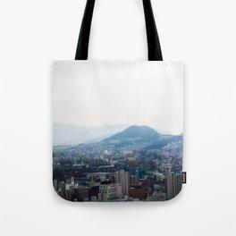 Hiroshima City from Above Tote Bag