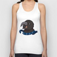 ravenclaw Tank Tops featuring Ravenclaw (alt) by Clair C