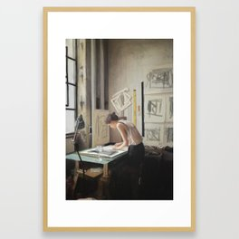 Color and light study III Framed Art Print